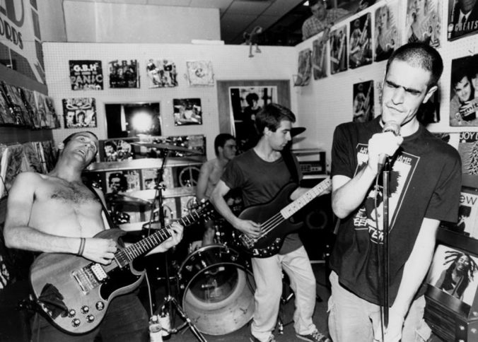 fugazi z records may 1988